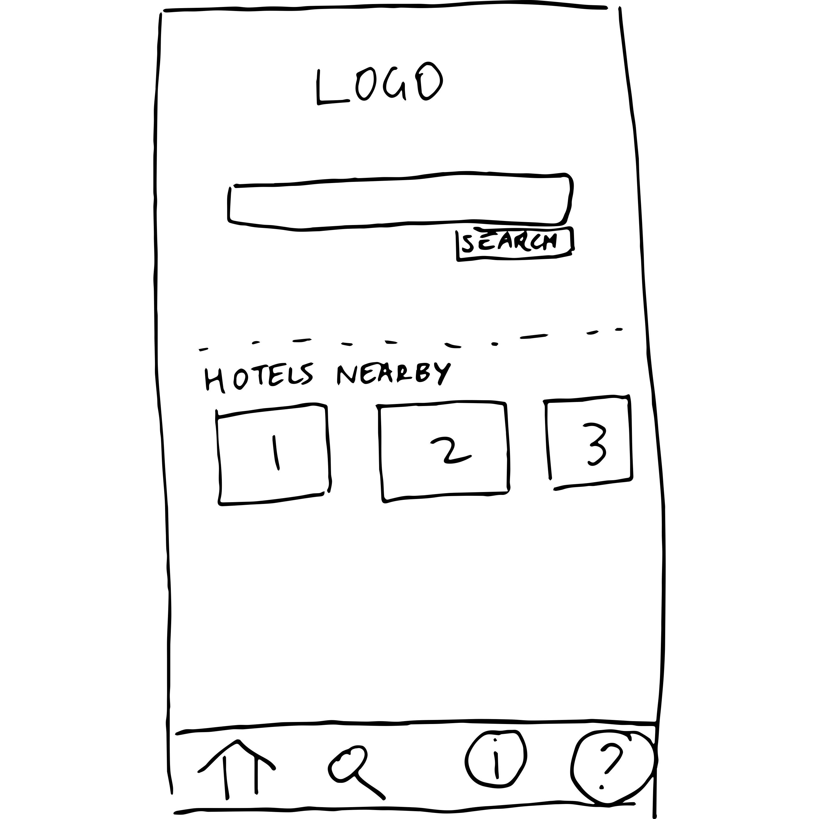 paper design search screen